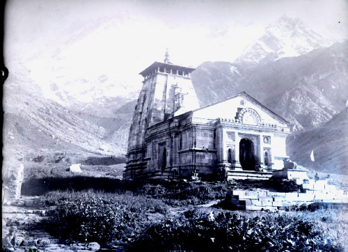 India Tv - old photograph of kedarnath temple