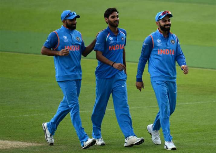 Virat Kohli reacts after India's win over Bangladesh in
