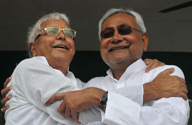 In veiled jibe at Nitish Kumar, Lalu congratulates BJP for