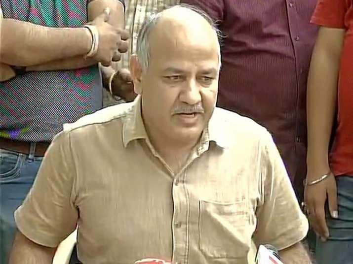 File pic of Delhi Deputy CM Manish Sisodia