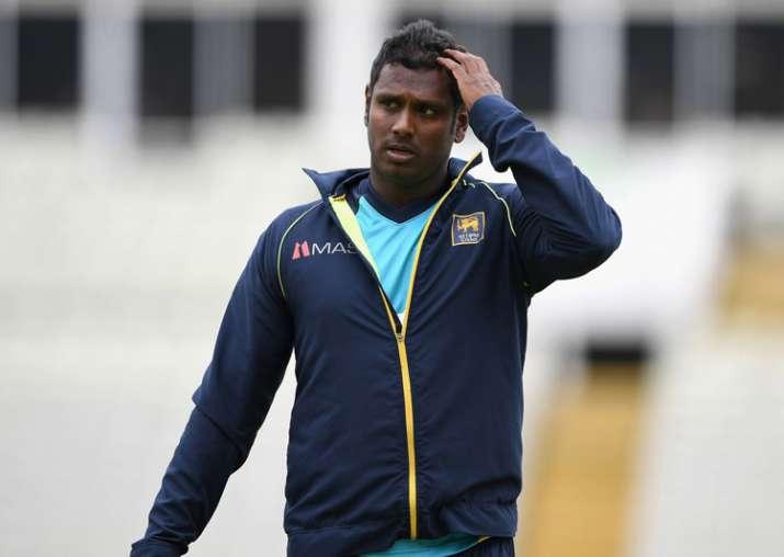 A file image of Sri Lanka captain Angelo Mathews.