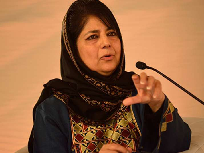 File pic of Mehbooba Mufti