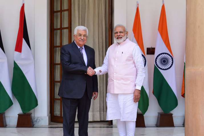 India reaffirms support for Palestinian cause in Modi-Abbas