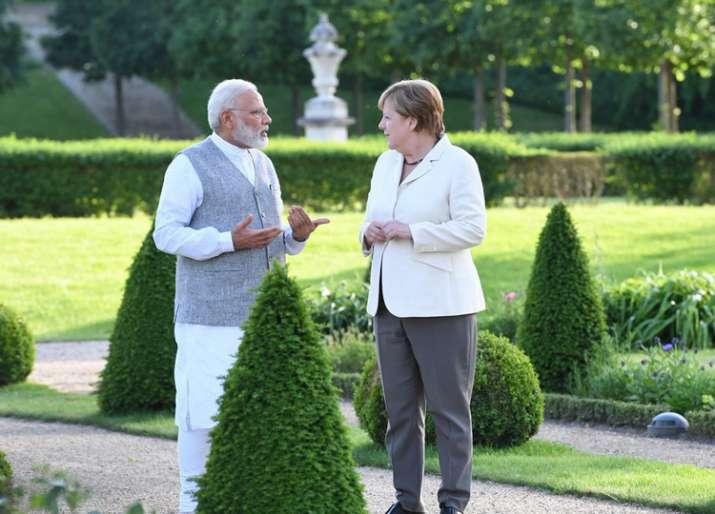 Modi met Merkel at her country retreat near Berlin for