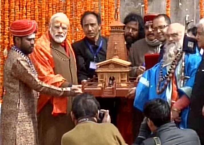 India Tv - PM Modi at Kedarnath