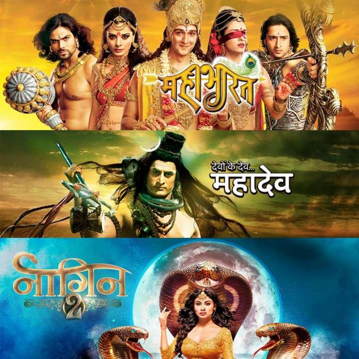 Mahabharat, Devon Ke Dev Mahadev and Naagin are hugely