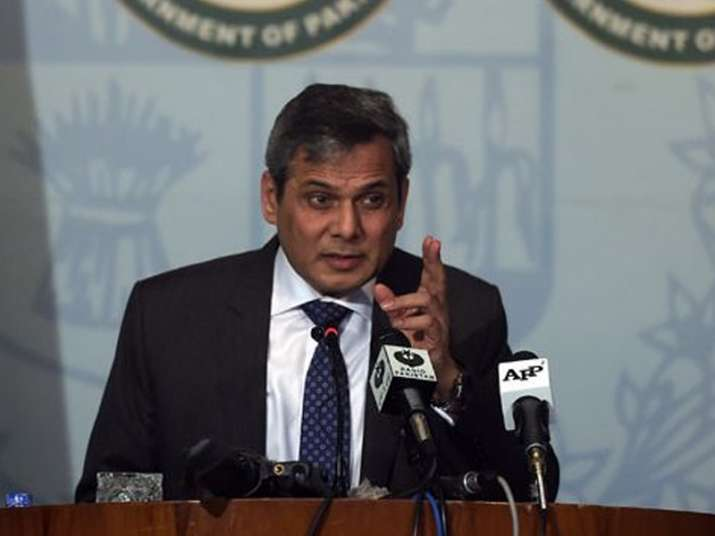 File pic of Foreign Office Spokesperson Nafees Zakaria