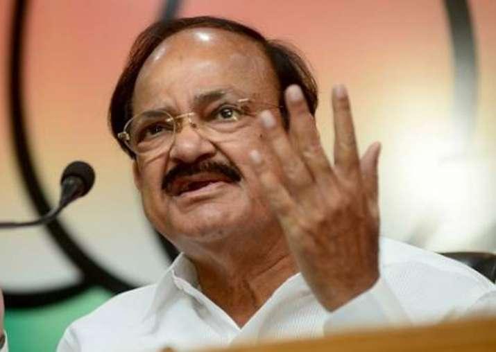 File pic of Union minister Venkaiah Naidu
