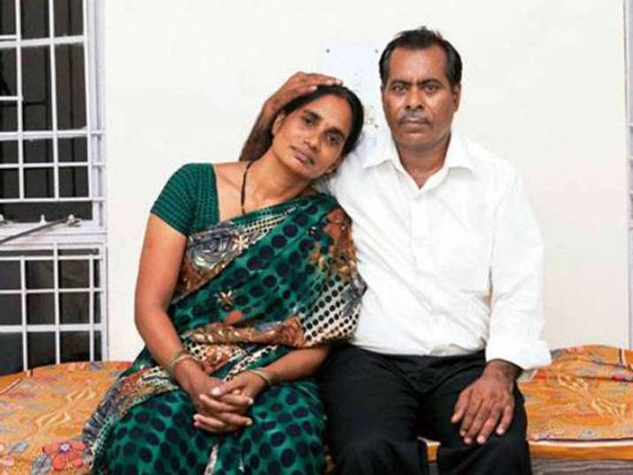 File pic of parents of Nirbhaya