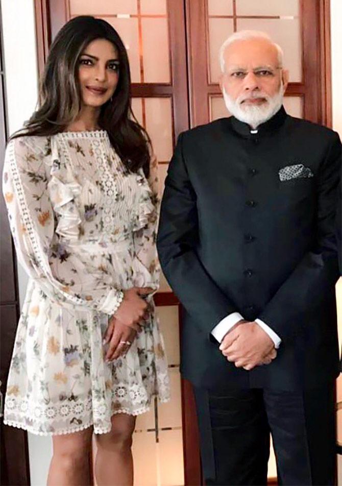 India Tv - Priyanka, Narendra Modi