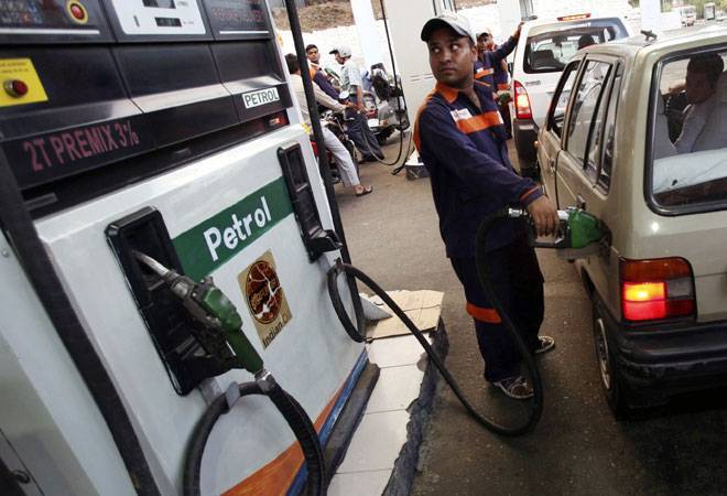 Petrol price hiked by Rs 1.23 per litre, diesel by 86 paise