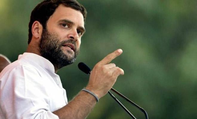 Rahul Gandhi asks on Modi govt's 'three year' festivities