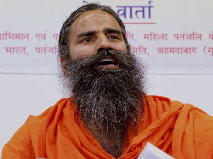 File pic of Baba Ramdev