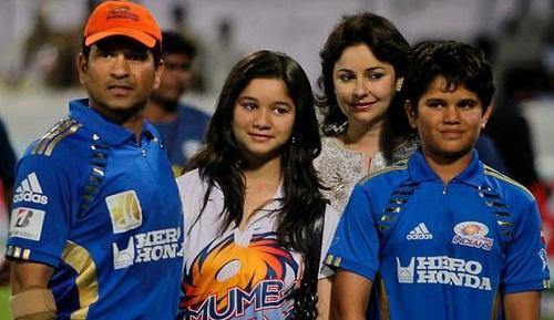India Tv - Sachin Tendulkar family