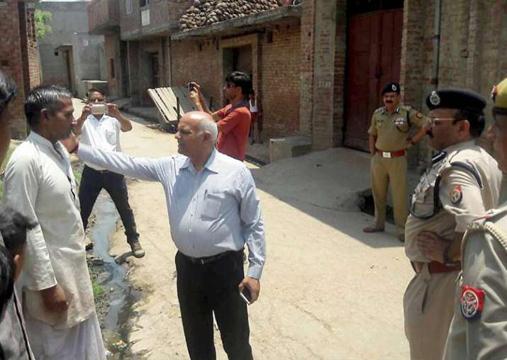 UP Home Secretary Mani Prasad Mishra visits Saharanpur