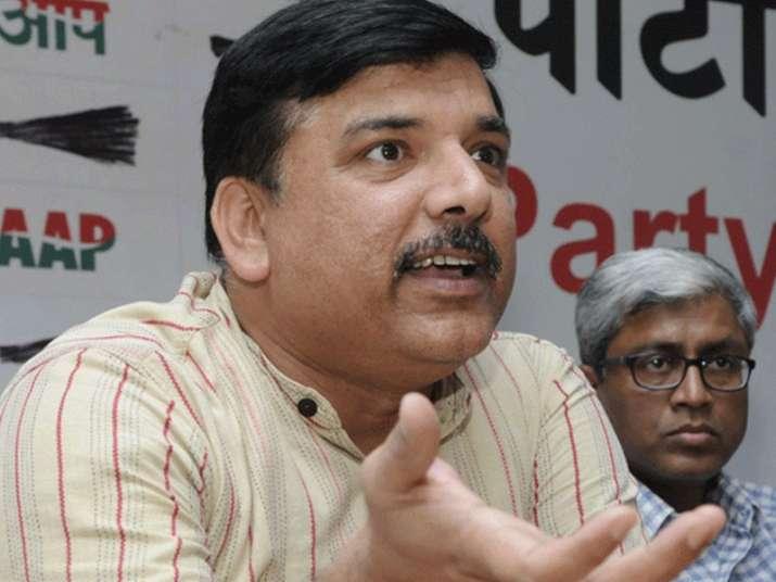 File pic of AAP leader Sanjay Singh