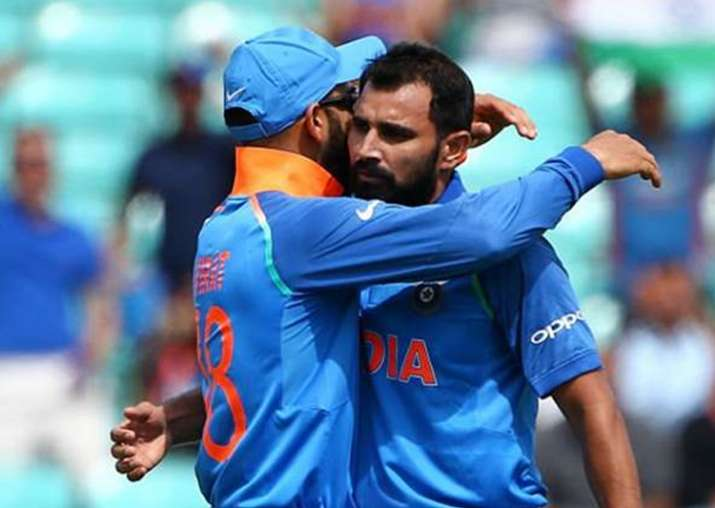 Virat, Shami shine as India beat New Zealand