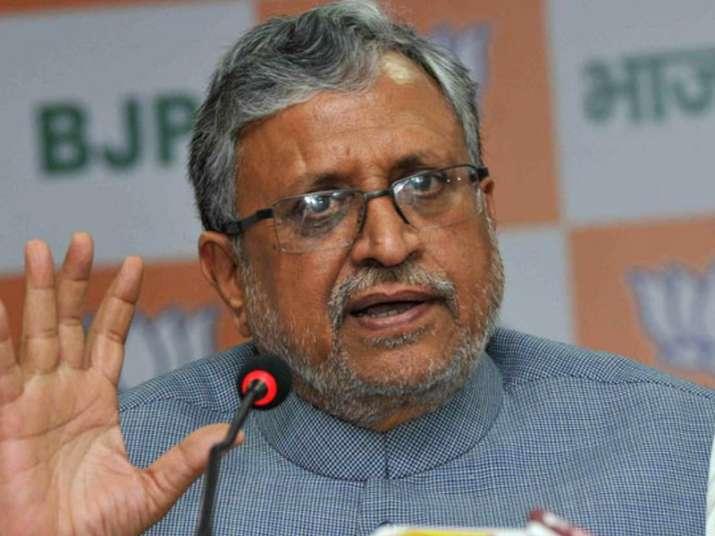 File pic of BJP leader Sushil Kumar Modi