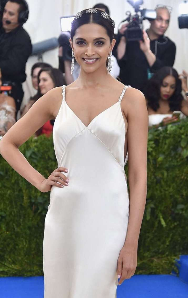 India Tv - Deepika Padukone at Met Gala 2017