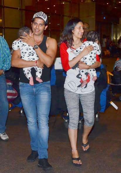 India Tv - Karanvir Bohra family