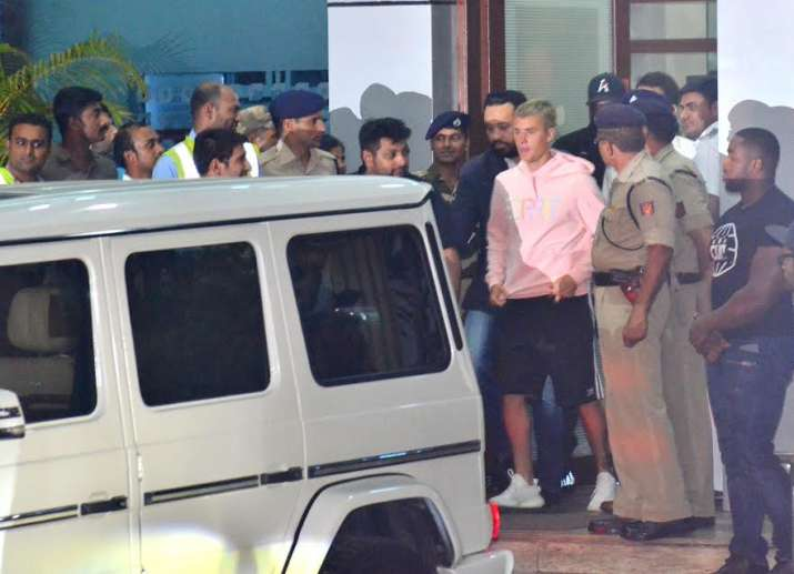 India Tv - Justin Bieber in India