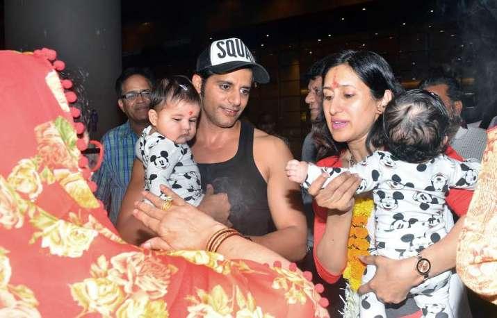 TV actor Karanvir Bohra's twin baby girls will steal your