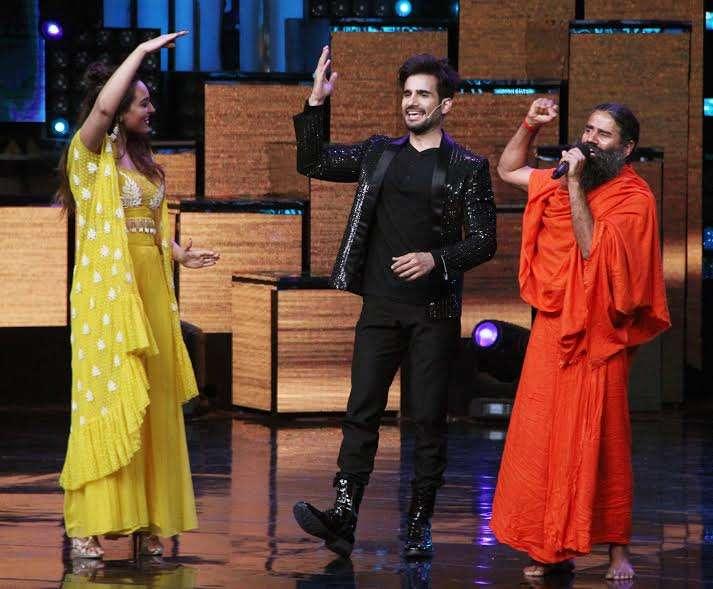 India Tv - Baba Ramdev on Nach Baliye