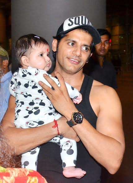 India Tv - Karanvir Bohra with baby
