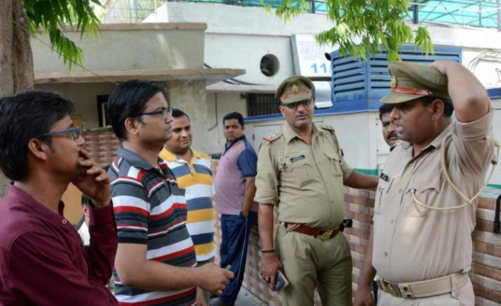 Family members of Karnataka Cadre IAS officer with police