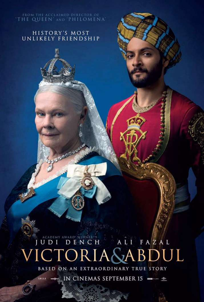 India Tv - Victoria and Abdul poster