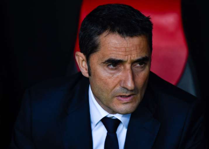 A file image of new Barcelona coach Ernesto Valverde.