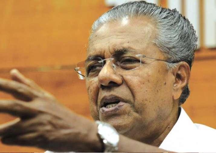 File pic of Kerala Chief Minister Pinarayi Vijayan