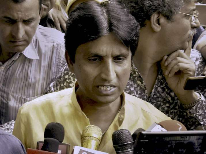 File pic of AAP leader Kumar Vishwas