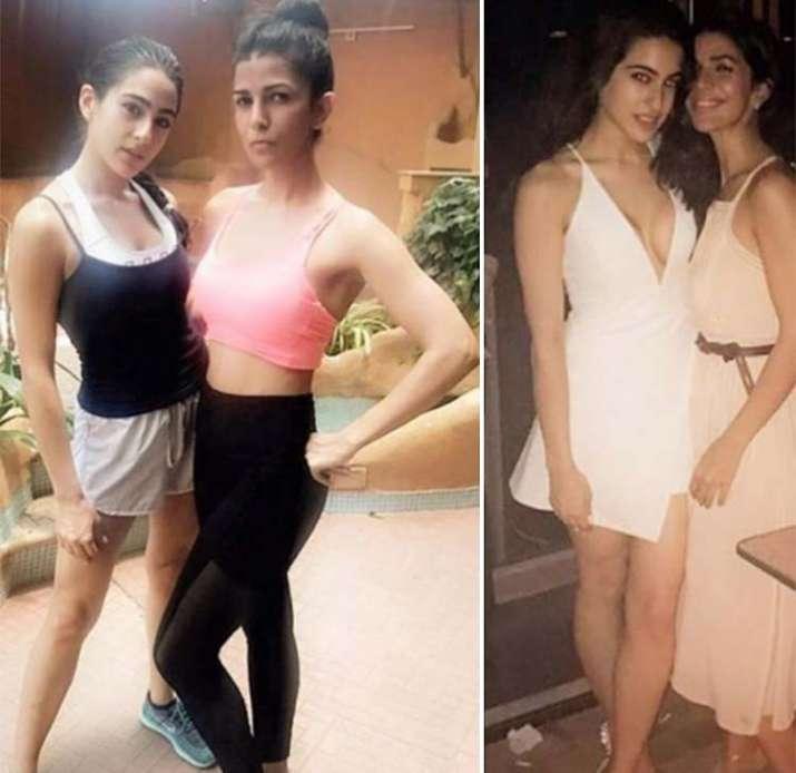 India Tv - Sara ali khan workout pics