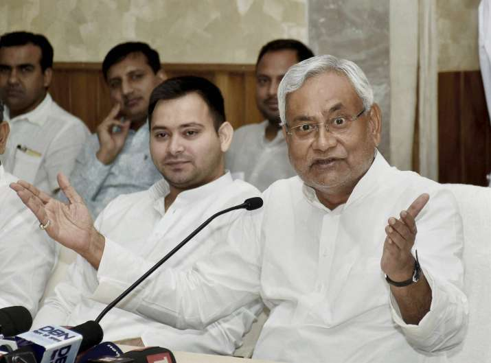 JDU today said the meeting between Nitish and Tejashwi was