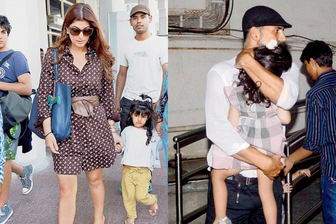 Twinkle Khanna Kids Akshay Kumar ha...
