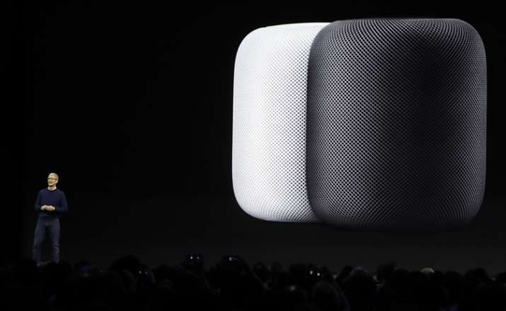 Apple unveiled new home speaker HomePod at WWDC 2017