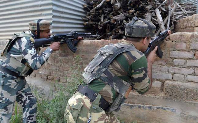 Kashmir: Three LeT militants trapped in a house, operation