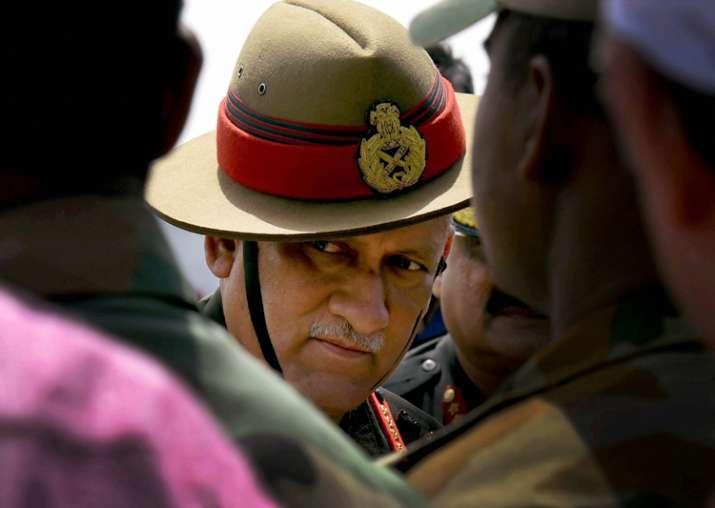 Army chief Bipin Singh Rawat