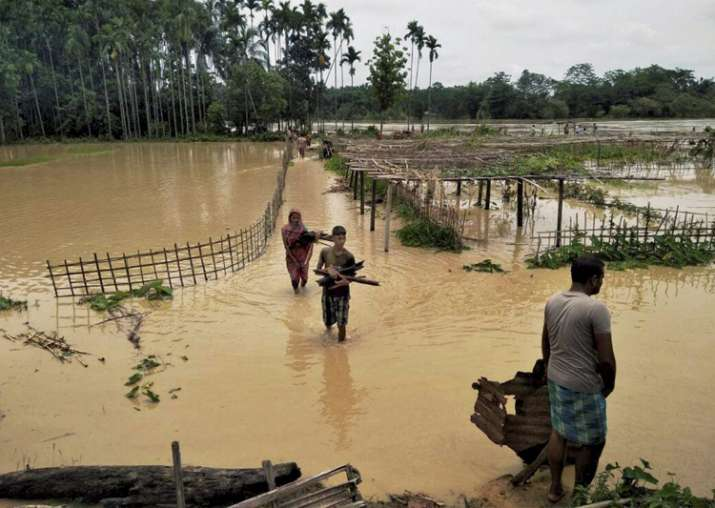 Rains wreak havoc in Assam, 60,000 hit