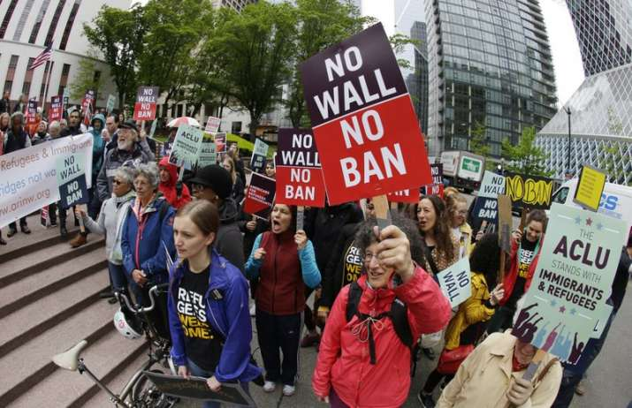 Travel ban partially reinstated, Trump calls it 'victory