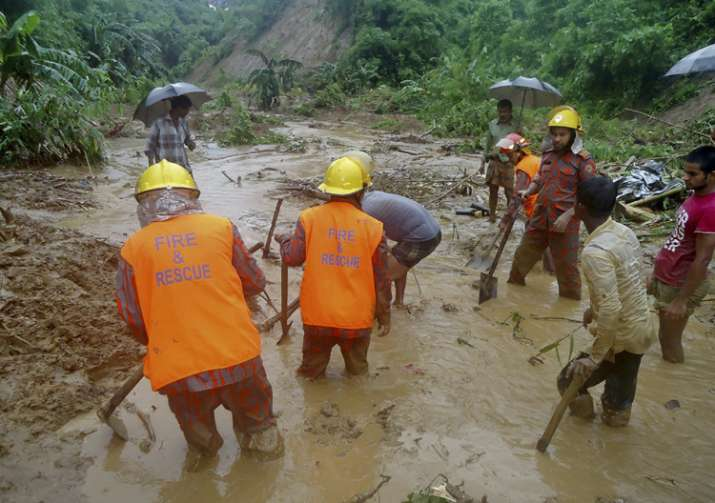 Death toll in Bangladesh landslides reaches 137