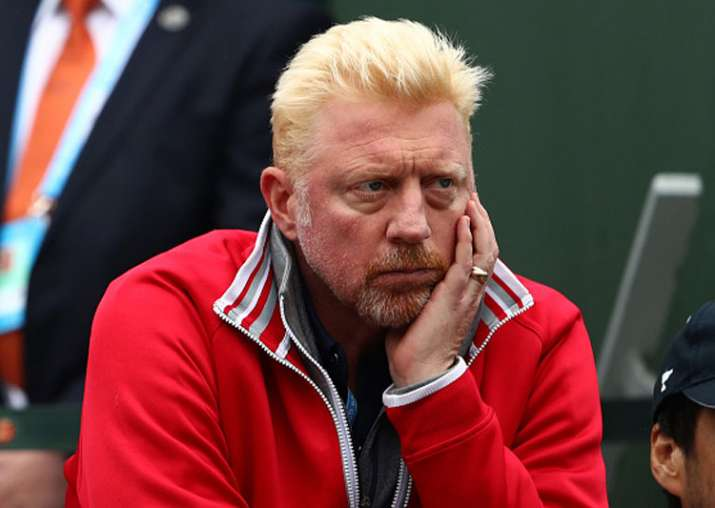 A file image of Boris Becker.