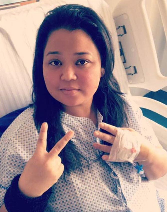 India Tv - Bharti Singh in hospital