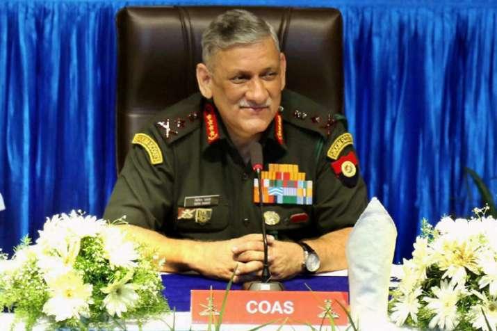 Army Chief Gen Rawat to visit Sikkim tomorrow