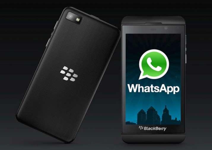 WhatsApp extends support for BlackBerry platform till
