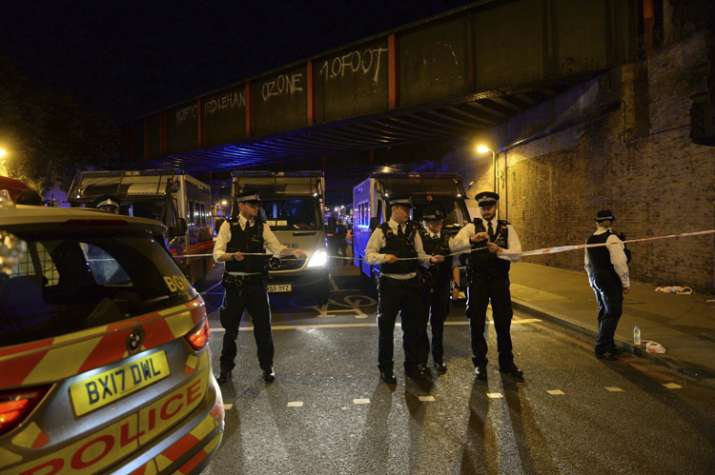 India Tv - A vehicle rammed into worshippers leaving London mosque