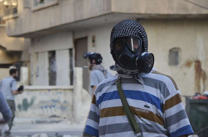 Assad may be preparing chemical weapons attack, says US;