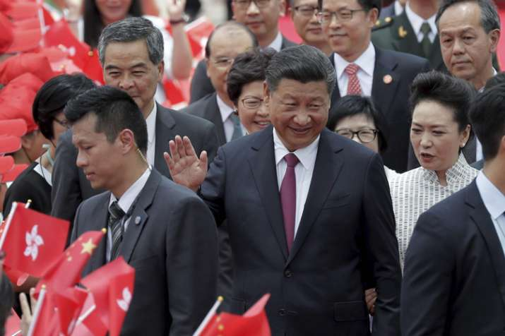 China responds to Jaitley's 'India of 2107 different from