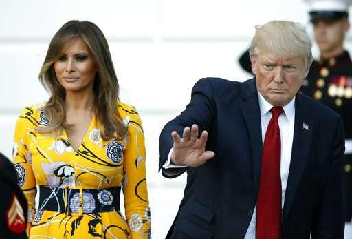 India Tv - Melania Trump, Donald Trump